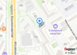Компания «Капремстрой-Урал» на карте