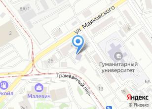 Компания «Первый Риэлторский Центр» на карте