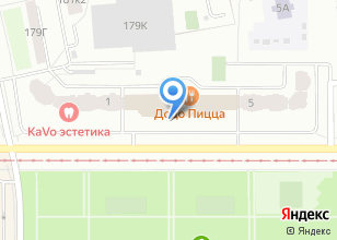 Компания «Golden Gym» на карте