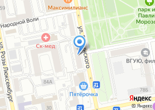 Компания «Graphite» на карте