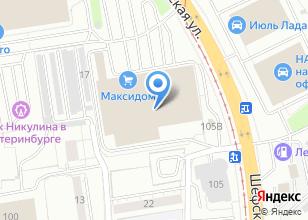 Компания «Castorama» на карте