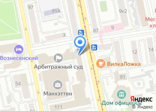 Компания «РенталПарк» на карте