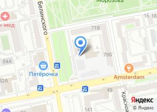 Компания «АльфаТэк» на карте