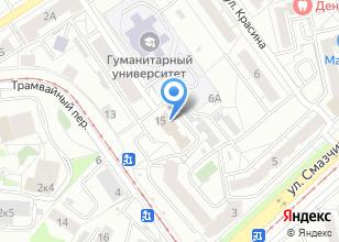 Компания «Уралпромжелдортранс» на карте