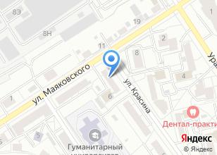 Компания «ЭкспоТекстиль» на карте