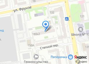 Компания «Уралэнергосеть» на карте