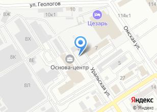 Компания «Лимузин96.рф» на карте