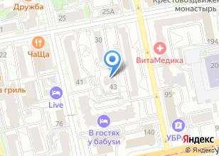 Компания «Негабаритные перевозки Екатеринбург» на карте