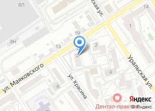 Компания «Уралсюрвейер» на карте