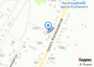 Компания «Эколес» на карте