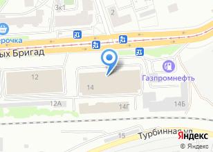 Компания «Энергоцентр-ЕК» на карте