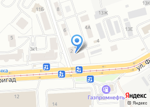 Компания «Багор» на карте