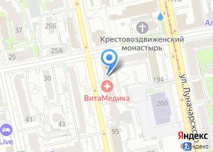 Компания «Глориоза» на карте