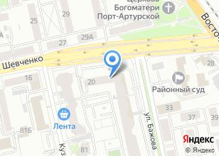 Компания «Юста Урал» на карте