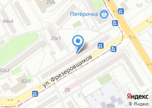 Компания «Полмарт» на карте
