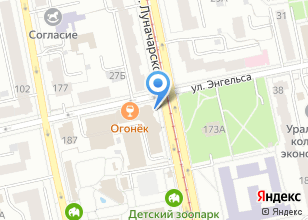 Компания «Адванс Груп» на карте