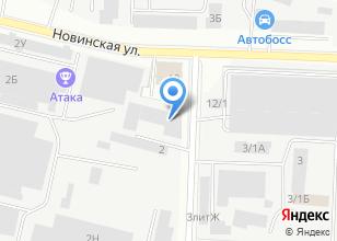 Компания «Завод Полимер Техсинтез» на карте