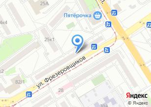 Компания «Мегамир» на карте