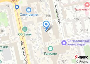 Компания «Кипяток» на карте