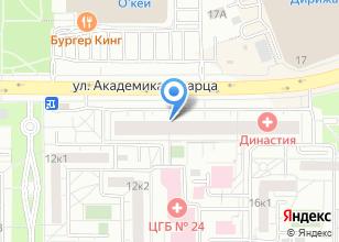 Компания «Уралзамки» на карте