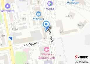Компания «Промтехинвест» на карте