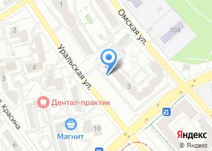 Компания «ТехПрогресс» на карте