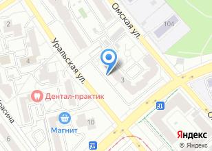 Компания «ОСА» на карте