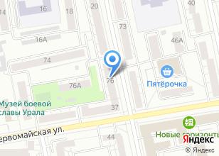 Компания «ОргтехКомплект» на карте