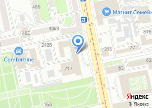 Компания «ТД ЭЛЕКОМ» на карте