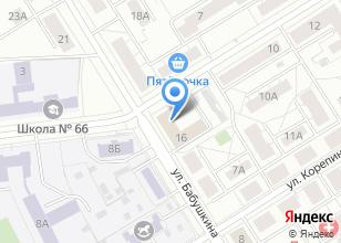 Компания «Отдел экономики и строительства Администрации Орджоникидзевского района» на карте