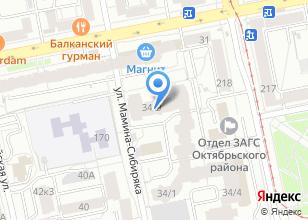 Компания «Альм-Технологии» на карте