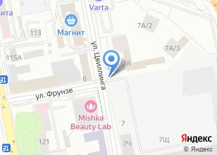 Компания «ИНТЭП» на карте