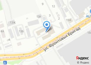 Компания «УралСпецСнаб» на карте