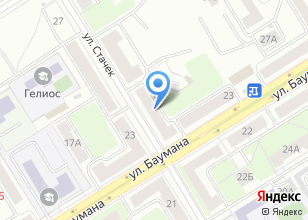 Компания «Vistex» на карте