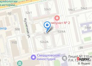 Компания «Партнер 96» на карте