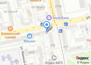 Компания «Автоман» на карте