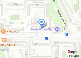 Компания «Аист-Недвижимость» на карте