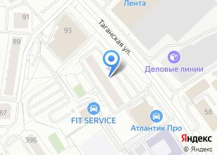 Компания «Центр тепловизионной диагностики» на карте