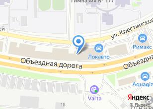 Компания «Уралэнергопром» на карте