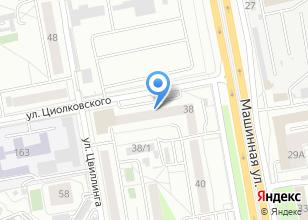 Компания «7senses.ru» на карте