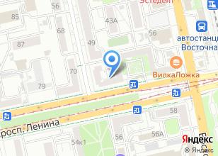 Компания «Атланттекс» на карте