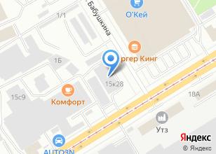Компания «ТЭКУР» на карте
