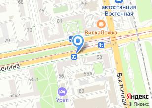 Компания «Люпин» на карте