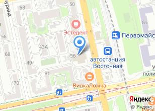 Компания «Главсредуралстрой» на карте