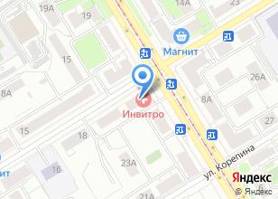 Компания «Аркада КБР-Урал» на карте