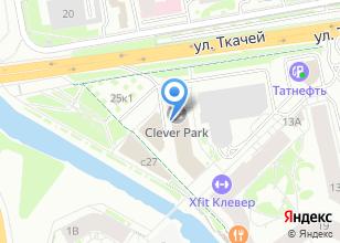 Компания «Строящееся административное здание по ул. Ткачей» на карте