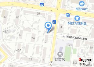 Компания «Гардиан» на карте