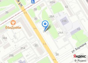 Компания «Твой Курьер» на карте
