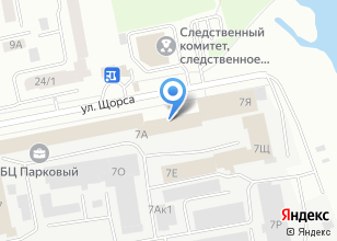 Компания «Сносим.ком» на карте