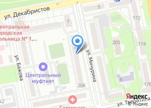 Компания «Теннисный клуб Скворцова Андрея» на карте